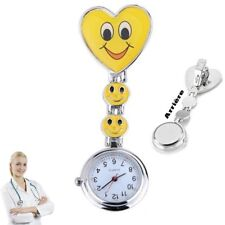 Reloj de pulsera Smiley Enfermera segunda mano Amarillo