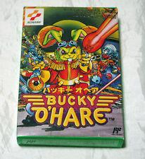 NINTENDO FAMICOM KONAMI BUCKY O'HARE w/box 1991 SUPER RARE o hare