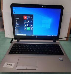 HP ProBook 450 G3 - 15.6'' - i7-6500U - 8GB RAM - 500GB HD. - Windows 10 PRO