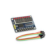 1PCS 8-Bit Digital LED Tube 8-Bit TM1638 8 Key Display Module For AVR Arduino