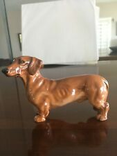 Vintage Royal Doulton Daschund Dog Figurine English Bone China