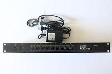 Kawai MAV8 MAV-8 MIDI Patchbay 8 outputs / 4 inputs Splitter Rack Rackmount w/AC