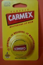Limited Edition Sealed Classic Carmex Moisturising Lip Balm pot full size 7.5g