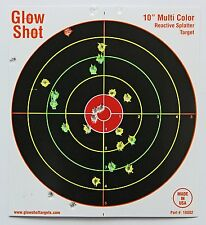 50 Pack, 10 Inch Reactive Splatter Targets, Glowshot, Glow Shot, New