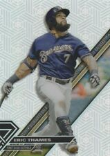 2017 TOPPS HIGH ERIC THAMES 1B BREWERS  #HT-ET  PINWHEEL VARIATION  SP