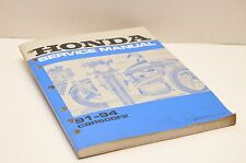 Genuine OEM Honda Factory Service SHOP Manual 61MV903 CBR600F2 1991-1994 92 93
