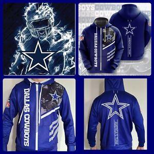 Dallas Cowboys Hoodie Lightweight Men's medium Unisex Men Women Football Sweater