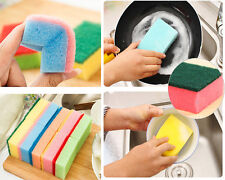 Economic 10Pcs Household Cleaning Tools Dishe Sponge Eliminate Besmirch Sponge