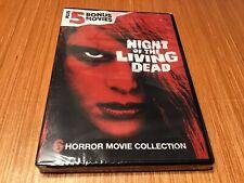 Night Of The Living Dead ( Plus 5 Bonus Movies, New Dvd )