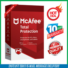 McAfee Total protection 2020  🔥1 Devices 10 Years Antivirus ✅ Fast Delivεry📥