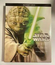 Blu Ray - Star Wars Prequels Trilogy - Phantom, Clones, Revenge [No DVD/Digital]