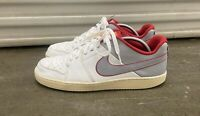 Mens Nike Backboard II Sneakers US Size 10.5 487657-109 White Gray Nike