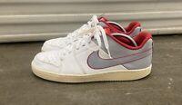 Mens Nike Backboard II Sneakers US Size 10.5 487657-109 White Gray Nike