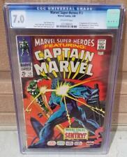 MARVEL SUPER-HEROES #13 CGC 7.0 1st Carol Danvers Captain Marvel Movie 1 2 Ms