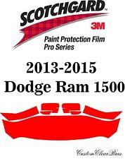 3M Scotchgard Paint Protection Film Pro Series Clear 2013 2015 Dodge Ram 1500