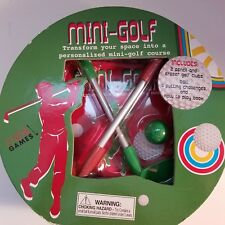 Parragon Mini-Golf Course Game Play Book 5 Challenge Games New Sealed