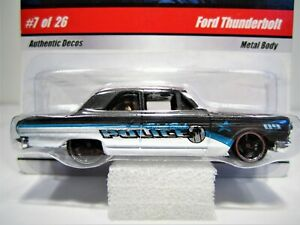Hot Wheels 2009 Cop Rods Ford Thunderbolt #7/26, N8999