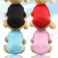 Cute Dog Sweater Puppy Pet Cat Velvet Warm Costume Coat Apparel Jumpsuit Pajama