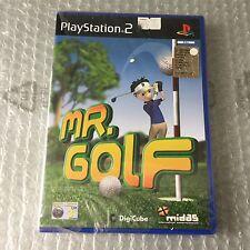VINTAGE# PS2 PLAYSTATION  MR GOLF # PAL SEALED SIGILLATO