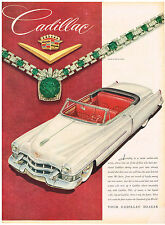 Vintage 1953 Magazine Ad Cadillac Survey States Owners Are Loyal / Armour Star