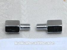 10mm to 10mm Yamaha Mirror Reverse Thread Adapter x2