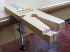 "7"" Jewellers V-Slot Bench Saw, Pin Vice & Clamp, Now With Ring Cutting Jig"