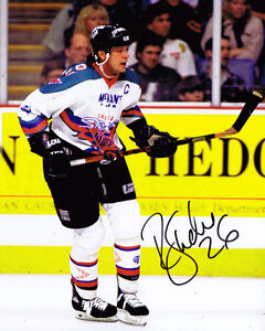 Ron Shudra HAND SIGNED Sheffield Steelers Ice Hockey 10x8 Photo AFTAL Dealer COA