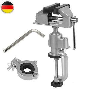 Präzisions Mini Schraubstock 50mm Drehbar 360°schwenkbar,Klein Tischschraubstock