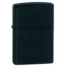 Zippo 218 Black Matte Classic Windproof Lighter NEW LIFETIME WARRANTY USA