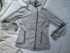 """BENCH soft mid Grey fitted Zip Through Jacket M 38"""" Sports Walking Used Vgc"""