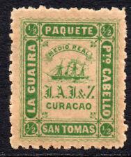 Países Bajos (Curacao) 1/2 paquetes de correo real sello c1864 MMH (tono de Goma)