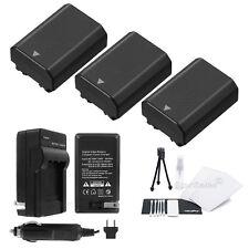 3x NB-2LH Battery + Charger + BONUS for Canon Powershot G Series G7 G9