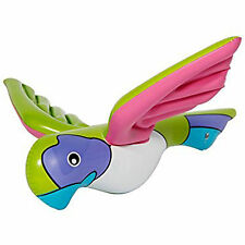 60cm Tropical Hawaiian Luau Inflatable Flying Parrot Party Prop Decoration