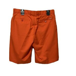 RLX Ralph Lauren Shorts Mens 32 Performance Golf Orange