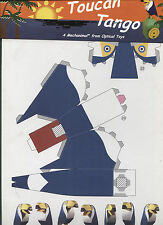 Toucan Tango - Paper Toy / A 'Mechanimal' from Optical Toys