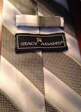 Stacy Adams Men's Silk Neck Tie Striped