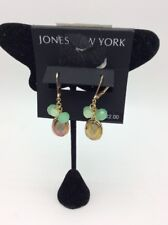 $22 Jones New York green bead cluster earrings NW4