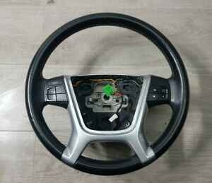 VOLVO V70 MK3 2009 4 SPOKE BLACK LEATHER MULTIFUNCTION STEERING WHEEL 31271093