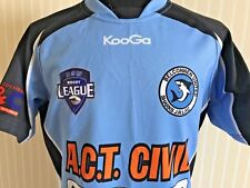 RARE BELCONNEN UNITED SHARKS JRLFC RUGBY JERSEY KOOGA MEN'S SIZE S RUGBY SHIRT