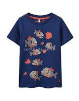 TOM JOULE T-Shirt Piranhas Applikationen 98 104 110 116 122 128 134 140 146 152