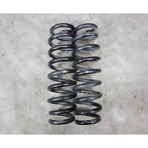 2008-2013 BMW E82 1-Series Coupe M Sports Factory Rear Coil Spring Pair OEM