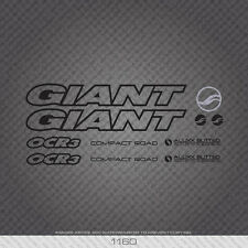 7 $10.99  FREE SHIPPING   CHOOSE COLOR GIANT BIKES     VINYL CUT DECAL KITS