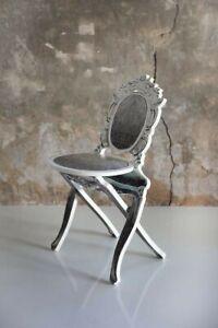 New Madame de Pompadour Folding Chair, Vivian Van Schagen COLLECTORS ITEM $1200