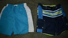 Lot of 2 Boy's Toddler 3T Board Shorts Swimsuit Swim Trunks