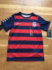 Nike Youth USA Match Tee Midnight Navy//Red 887083 410 SZ XL