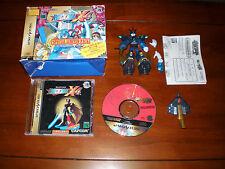 Rockman X4 Special Limited Pack Sega Saturn Ultimate Armor Mega Man