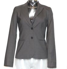 Women's Theory Black 100% Wool Blazer Career Business Suit Jacket Size 2 NWT