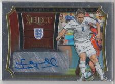 Panini Select historic signatures 2015 Frank Lampard auto card 11/75 England