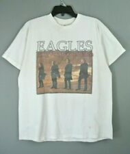 Vintage Eagles Graphic Concert T-Shirt L Long Road Out Of Eden Tour 2008 #227