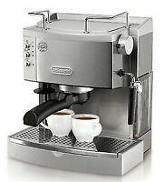 DeLonghi EC702 15 Bar Pump driven Espresso Latte and Cappuccino Maker, Stainless